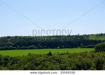 Landscape in the eifel (germany)