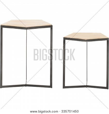 Astre End Table Table Base Color: Gold Leaf, Emery End Table, Designs Henrie Cross End Table With Wh