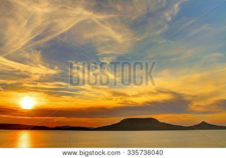 In Images Beauty Landscape With Sunrise Over Sea