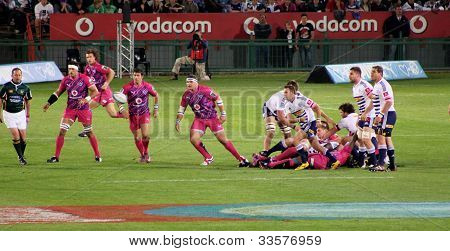 Rugby Bulls Defence South Africa 2012