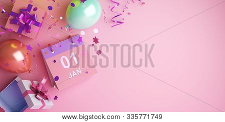 Happy New Year 2020, New Year Background, New Year Banner, New Year Abstract, Happy New Year 3d, Hap