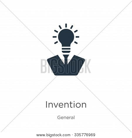 Invention Icon Vector. Trendy Flat Invention Icon From General Collection Isolated On White Backgrou