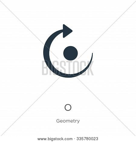 Redo Icon Vector. Trendy Flat Redo Icon From Geometry Collection Isolated On White Background. Vecto