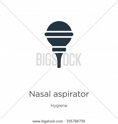 Nasal Aspirator Icon Vector. Trendy Flat Nasal Aspirator Icon From Hygiene Collection Isolated On Wh