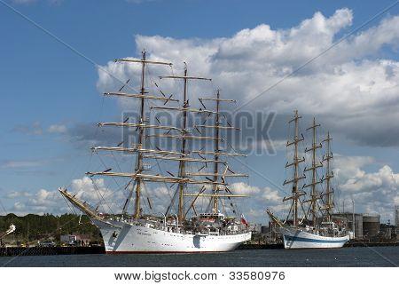 Tall Ships in Denmark