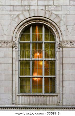 Grand Old Hotel Window