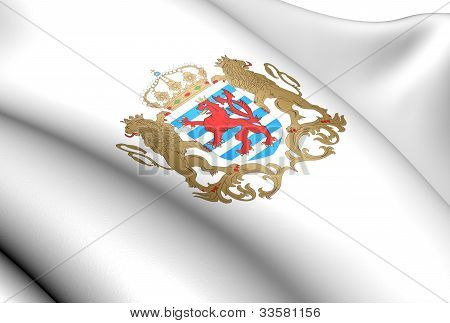 Luxemburg Coat of Arms. Close Up. Front View. poster