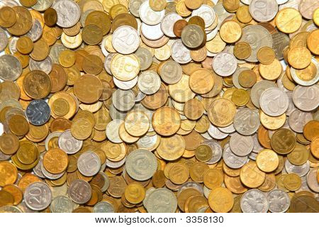 poster of Background of pile of a many coins