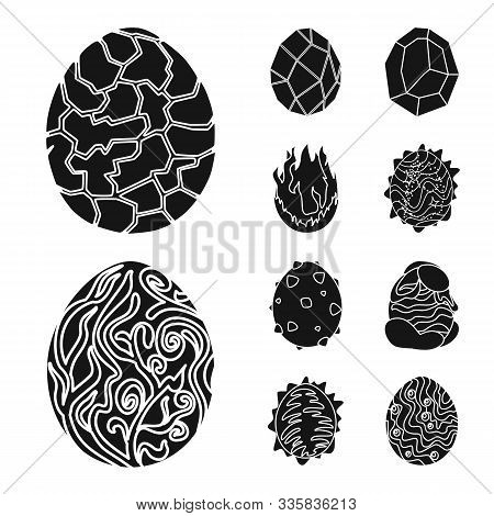 Isolated Object Of Fantastic And Cute Icon. Collection Of Fantastic And Magic Stock Vector Illustrat