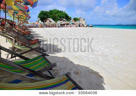 Beach Chair Kai Island, Phuket, Thailand