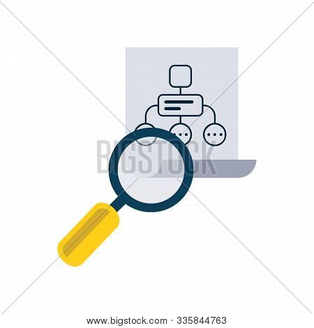 Infographics Background Seo Optimization. Seo Concept. Set Icons