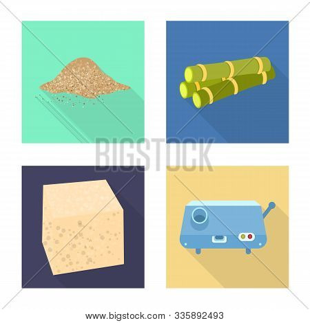 Vector Illustration Of Farm And Agriculture Icon. Collection Of Farm And Sweet Stock Symbol For Web.