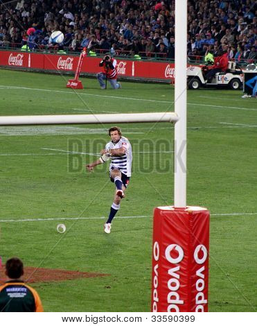 Rugby Peter Grant Kick Stormers South Africa 2012
