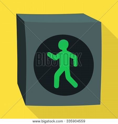 Vector Design Of Stoplight And Signal Logo. Graphic Of Stoplight And Svetofor Stock Vector Illustrat