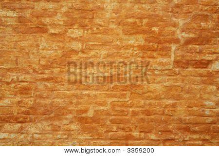 Orange Brick Wall