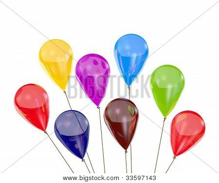 Balloons Of Different Color