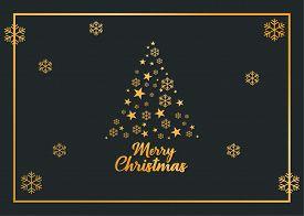 Christmas Tree, Podcast, Christmas Greeting Card, Merry Christmas, Christmas Card, Gold Card