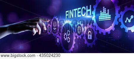 Fintech Financial Technology Digital Money Online Banking Business Finance Concept