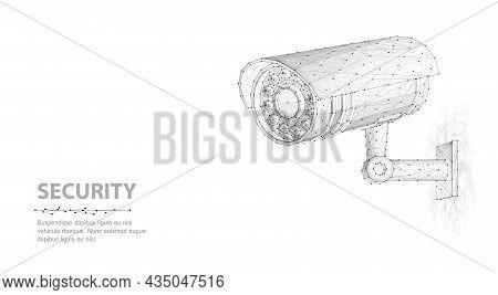 Security Camera. Security System, Smart Home, Cctv Concept.