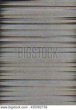 Glitch Overlay. Vhs Static Noise. Grain Texture. Signal Error. Dark Gray Black Fuzzy Grain Artifacts