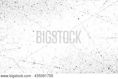 Grunge Texture. Old Scratched Backdrop. Distressed Overlay Surface. Urban Rough Background With Dust