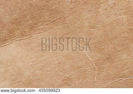 Texture Of Brown Cardboard With Wrinkle, Scratch, Scrape, Spots, For Background