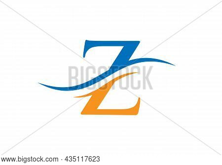 Z Logo Design Vector Template. Initial Letter Z Logotype For Business And Company Identity
