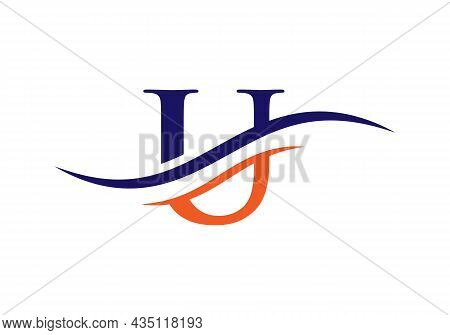 U Logo Design Vector Template. Initial Letter U Logotype For Business And Company Identity