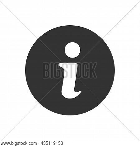 Information Related Vector Glyph Icon. Speech Symbol For Web Site Design, Logo, App, Ui. Isolated On
