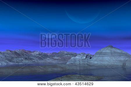 Bizarre Mountains