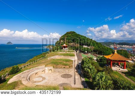 Baimiweng Fort, A Former Fort Located At Keelung City, Taiwan
