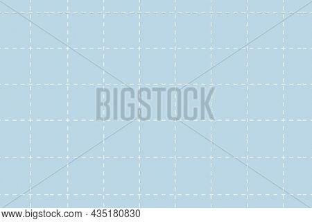 Cute blue background, grid pattern, simple pastel design