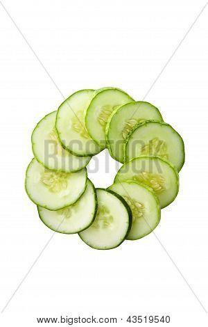 Cucumber in circle