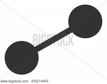 Linkage Icon With Flat Style. Isolated Vector Linkage Icon Illustrations, Simple Style.