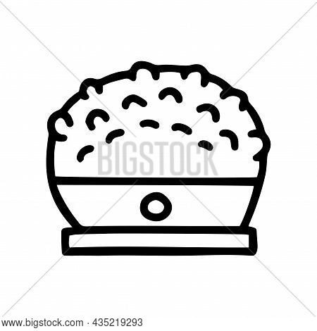 Body Massager Line Vector Doodle Simple Icon