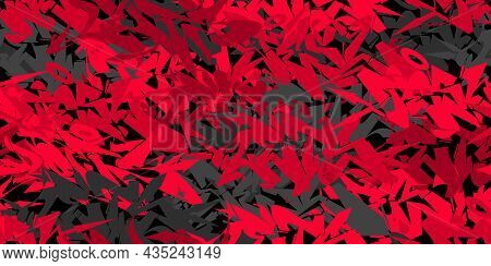 Flat Seamless Abstract Hip Hop Street Art Graffiti Style Urban Red And