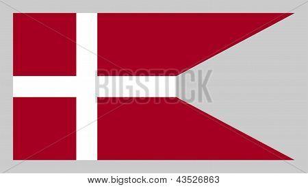 Flag Of Denmark (naval).