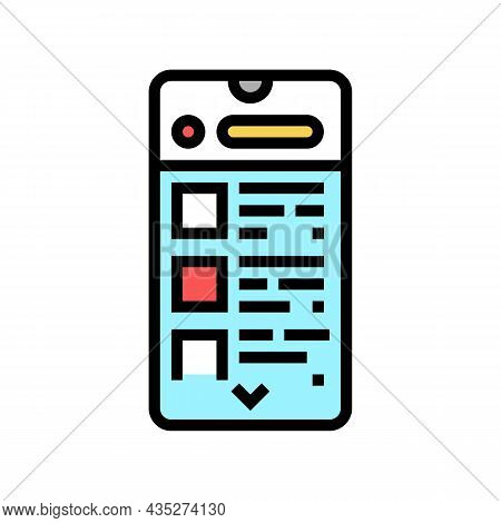 Commerce Application Color Icon Vector. Commerce Application Sign. Isolated Symbol Illustration