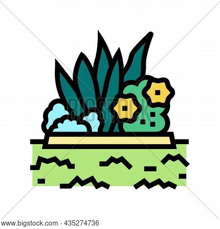 Plant Installation Color Icon Vector. Plant Installation Sign. Isolated Symbol Illustration