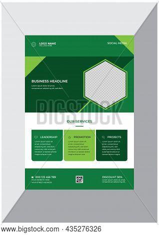 Promotional Creative Business Enterprise Flyer Design Template