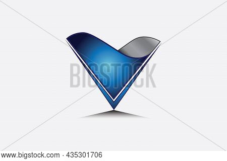 The Letter V Is Shaped Like A Triangular Funnel