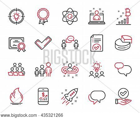 Vector Set Of Education Icons Related To Business Hierarchy, Best Manager And Mobile Finance Icons.