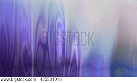 Liquid Background With Colorful Iridescences. Motion. Colored Liquid Surface With Vertical Transfusi