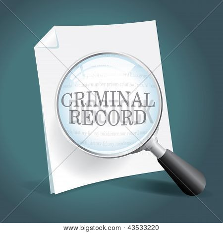 Reviewing A Criminal Record