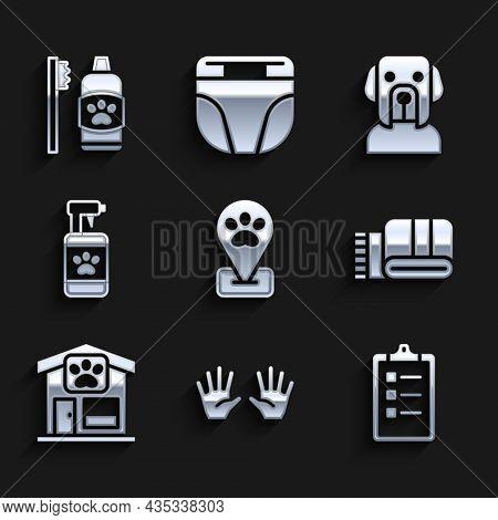 Set Location Pet Grooming, Medical Rubber Gloves, Grooming Salon Price List, Towel Stack, Pet, Shamp