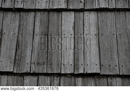 Perspective Wood Roof Texture - Old Wooden Roof Texture
