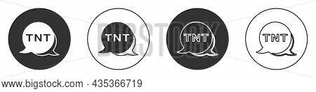 Black Detonate Dynamite Bomb Stick Icon Isolated On White Background. Time Bomb - Explosion Danger C