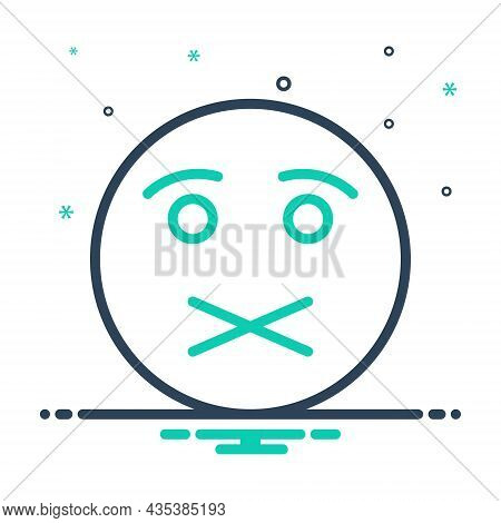 Mix Icon For Quiet Shush Calm Tranquil Silence Serene Silent Peaceful