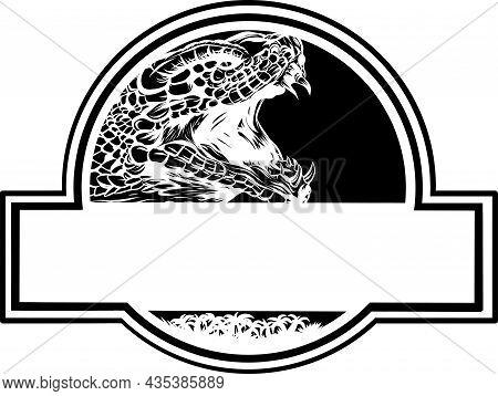 Vector Logo Cobra Head - Color Illustration Design