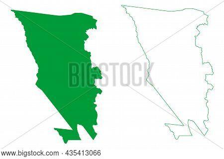 Barra Do Mendes Municipality (bahia State, Municipalities Of Brazil, Federative Republic Of Brazil)